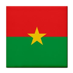 Flag Of Burkina Faso Face Towel