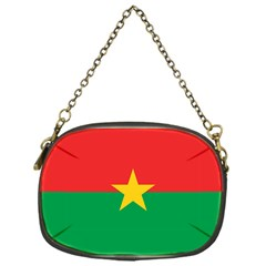 Flag Of Burkina Faso Chain Purses (one Side)