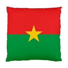 Flag Of Burkina Faso Standard Cushion Case (two Sides)