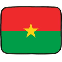 Flag Of Burkina Faso Fleece Blanket (mini)