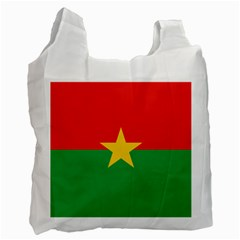 Flag Of Burkina Faso Recycle Bag (two Side)