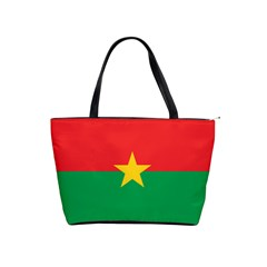 Flag Of Burkina Faso Shoulder Handbags