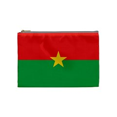 Flag Of Burkina Faso Cosmetic Bag (medium)