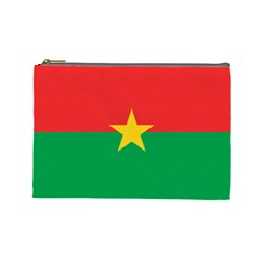 Flag Of Burkina Faso Cosmetic Bag (large)