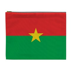 Flag Of Burkina Faso Cosmetic Bag (xl)