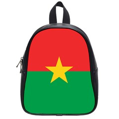Flag Of Burkina Faso School Bag (small)