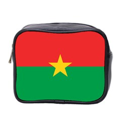 Flag Of Burkina Faso Mini Toiletries Bag 2 Side