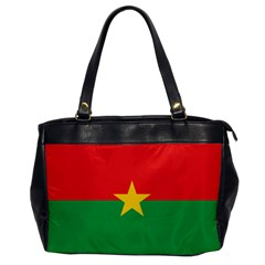 Flag Of Burkina Faso Office Handbags