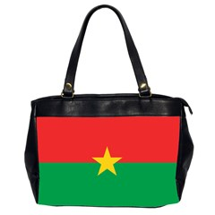 Flag Of Burkina Faso Office Handbags (2 Sides)