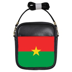 Flag Of Burkina Faso Girls Sling Bags