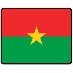 Flag Of Burkina Faso Fleece Blanket (medium)