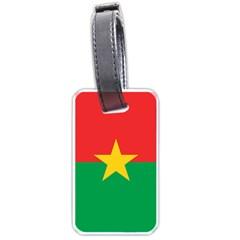 Flag Of Burkina Faso Luggage Tags (two Sides)