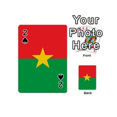 Flag Of Burkina Faso Playing Cards 54 (mini)