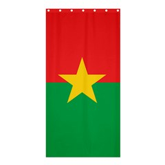 Flag Of Burkina Faso Shower Curtain 36  X 72  (stall)