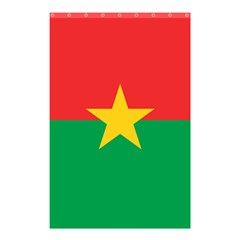 Flag Of Burkina Faso Shower Curtain 48  X 72  (small)