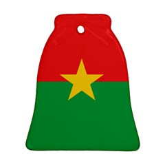 Flag Of Burkina Faso Bell Ornament (two Sides)