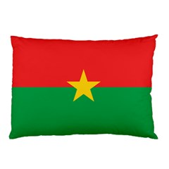 Flag Of Burkina Faso Pillow Case (two Sides)