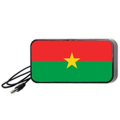 Flag Of Burkina Faso Portable Speaker