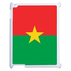 Flag Of Burkina Faso Apple Ipad 2 Case (white)