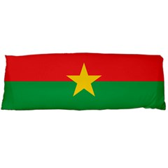 Flag Of Burkina Faso Body Pillow Case (dakimakura)