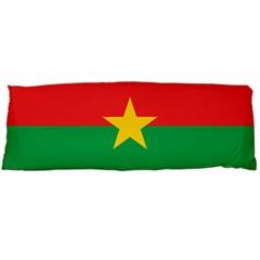 Flag Of Burkina Faso Body Pillow Case Dakimakura (two Sides)