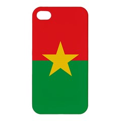 Flag Of Burkina Faso Apple Iphone 4/4s Premium Hardshell Case