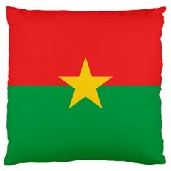 Flag Of Burkina Faso Large Cushion Case (one Side)