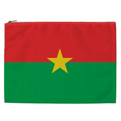 Flag Of Burkina Faso Cosmetic Bag (xxl)