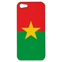 Flag Of Burkina Faso Apple Iphone 5 Hardshell Case