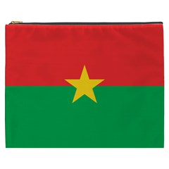 Flag Of Burkina Faso Cosmetic Bag (xxxl)