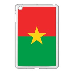 Flag Of Burkina Faso Apple Ipad Mini Case (white)