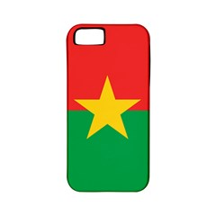 Flag Of Burkina Faso Apple Iphone 5 Classic Hardshell Case (pc+silicone)