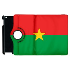 Flag Of Burkina Faso Apple Ipad 3/4 Flip 360 Case