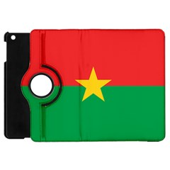 Flag Of Burkina Faso Apple Ipad Mini Flip 360 Case