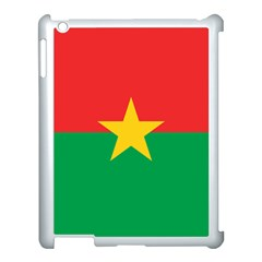 Flag Of Burkina Faso Apple Ipad 3/4 Case (white)