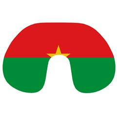 Flag Of Burkina Faso Travel Neck Pillows