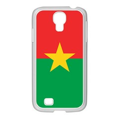 Flag Of Burkina Faso Samsung Galaxy S4 I9500/ I9505 Case (white)