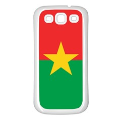 Flag Of Burkina Faso Samsung Galaxy S3 Back Case (white)
