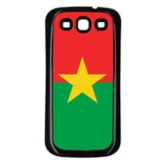 Flag Of Burkina Faso Samsung Galaxy S3 Back Case (black)