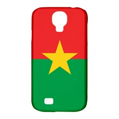 Flag Of Burkina Faso Samsung Galaxy S4 Classic Hardshell Case (pc+silicone)