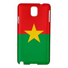 Flag Of Burkina Faso Samsung Galaxy Note 3 N9005 Hardshell Case