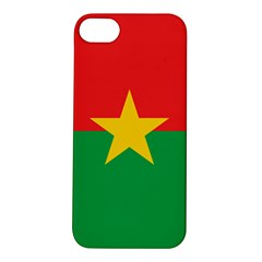 Flag Of Burkina Faso Apple Iphone 5s/ Se Hardshell Case