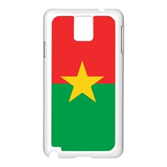 Flag Of Burkina Faso Samsung Galaxy Note 3 N9005 Case (white)