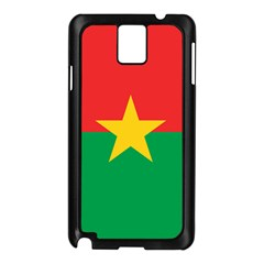Flag Of Burkina Faso Samsung Galaxy Note 3 N9005 Case (black)