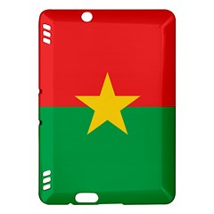 Flag Of Burkina Faso Kindle Fire Hdx Hardshell Case