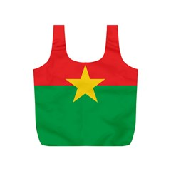Flag Of Burkina Faso Full Print Recycle Bags (s)