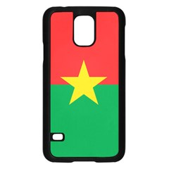 Flag Of Burkina Faso Samsung Galaxy S5 Case (black)