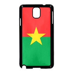 Flag Of Burkina Faso Samsung Galaxy Note 3 Neo Hardshell Case (black)