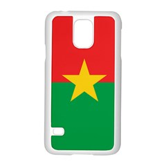 Flag Of Burkina Faso Samsung Galaxy S5 Case (white)