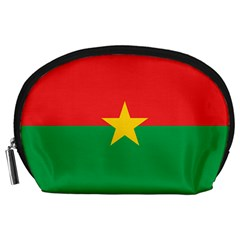 Flag Of Burkina Faso Accessory Pouches (large)